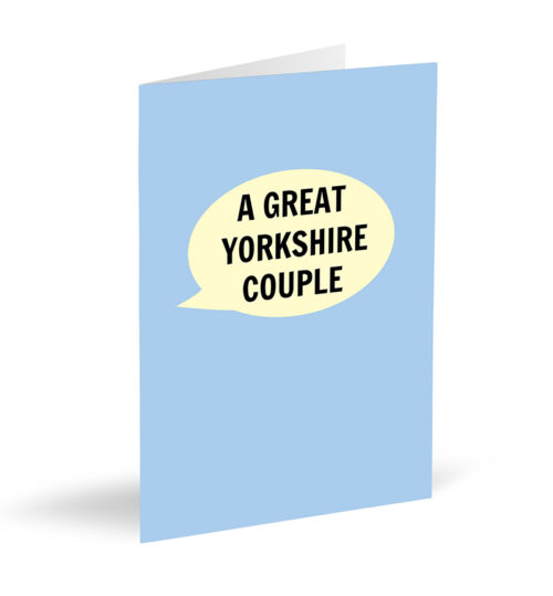 Great Yorkshire Couple Card