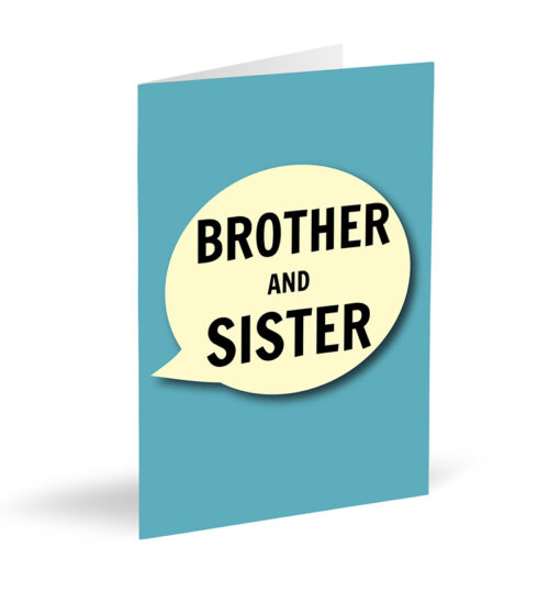 Brother And Sister Cards