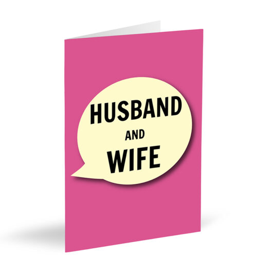 Husband And Wife Cards